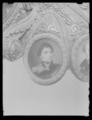 Detallj miniatyrporträtt Karl XIV Johan, värja - Livrustkammaren - 53717.tif