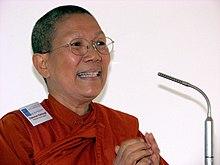 Буддийская тайская монахиня