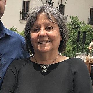 Diamela Eltit Chilean writer and university professor