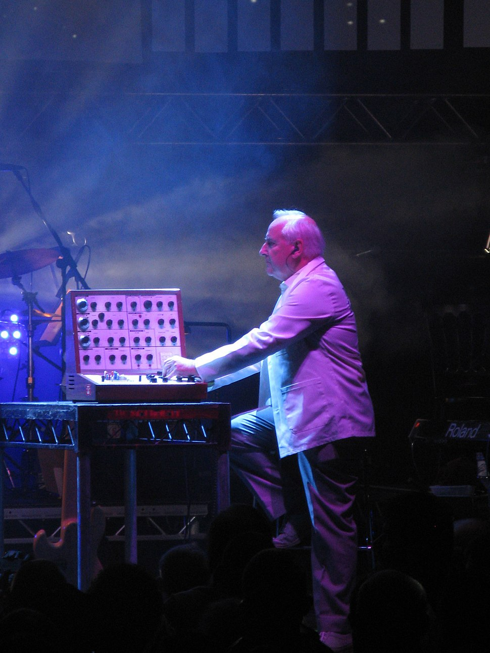 Dick Mills, BBC Radiophonic Workshop at the Roundhouse, 2009-05-17