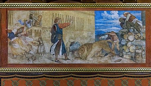 Die Fresken von Moritz von Schwind im Landgrafenzimmer der Wartburg. 03