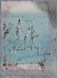 Paul Klee: Twittering Machine