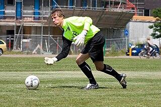 Diederik Bangma Dutch football goalkeeper