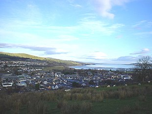 "Looking across Dingwall to the <a href=""http://search.lycos.com/web/?_z=0&q=%22Cromarty%20Firth%22"">Cromarty Firth</a>"