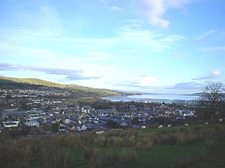 Dingwall town in Scotland