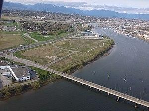 Dinsmore Bridge - Image: Dinsmore Bridge aerial