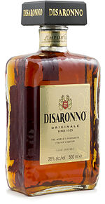 The Disaronno Originale square bottle