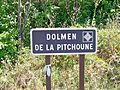 Dolmen de la Pitchoune - Panneau.JPG