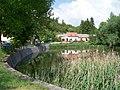 Dolní Chabry, Prostřední rybník (02).jpg