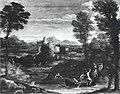 Domenichino - Paesaggio con cacciatori, Galleria Doria Pamphilj.jpg