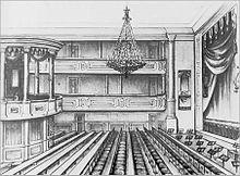 Das Fürstlich Fürstenbergische Hoftheater in Donaueschingen (Quelle: Wikimedia)