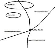 Dong Xoai Map