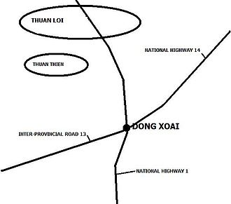 Battle of Dong Xoai - Đồng Xoài in 1965