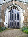 Doorway, St Mary's Church, Brandesburton - geograph.org.uk - 591117.jpg