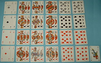 French playing cards - North-German pattern (Doppelkopf deck)