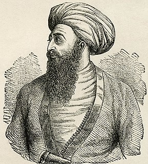 Dost Mohammad Khan Emir of Afghanistan from 1823 to 1839 and 1845 to 1863