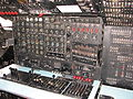 Douglas C-124 Globemaster II flight engineer station.JPG