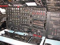 Douglas C-124 Globemaster II flight engineer station