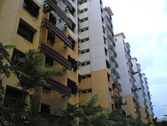 Dover, Singapore - A 12-storey HDB block in Dover Crescent