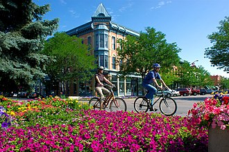 "Fort Collins, Colorado - Downtown ""Old Town"" Fort Collins"