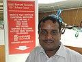 Dr.Umasankar Mohanty at Harvard University Science Centre, USA in August 2015.jpg