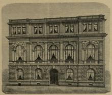 Dr. Hoch's Konservatorium, Abbildung in der Neuen Musik-Zeitung 1888 (Quelle: Wikimedia)