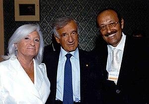 English: Dr. Mashkevitch and Nobel Peace Prize...