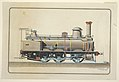 Drawing, Elevation View of a Locomotive, First Prize Drawing, 1888 (CH 18397245).jpg