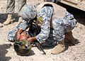Drilling Iraqi police on core medic skills DVIDS211179.jpg