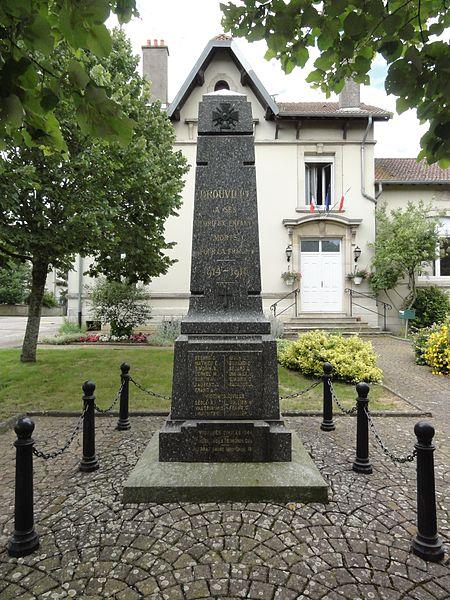 Drouville (M et M) monument aux morts