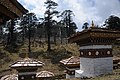 Druk Wangyal - 108 Chortens at Dochula on Thimphu-Punakha Highway - Bhutan - panoramio (1).jpg