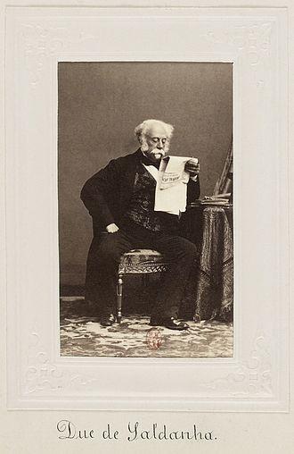 João Carlos de Saldanha Oliveira e Daun, 1st Duke of Saldanha - Duke of Saldanha, ca. 1870