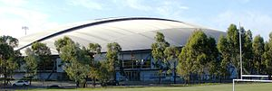 Venues of the 2000 Summer Olympics - The Dunc Gray Velodrome in 2008. For the 2000 Summer Olympics, it hosted the track cycling events.