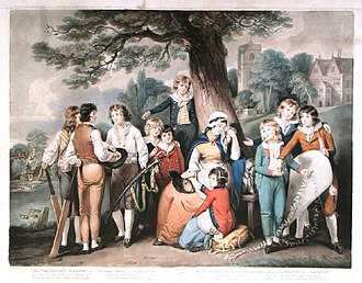 1800 in sports - Image: Dunkarton & Ward mezzotint The Soldier's Widow