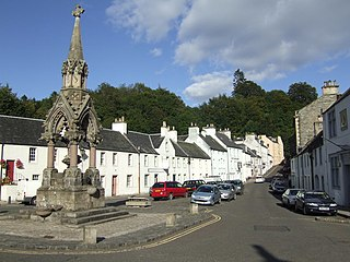 Dunkeld and Birnam Human settlement in Scotland