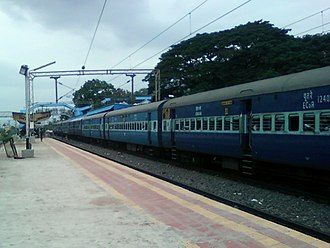 Simhachalam railway station - Durg-VSKP Passenger