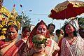 Durga Idol Immersion Procession - Baja Kadamtala Ghat - Kolkata 2012-10-24 1464.JPG