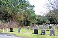 Durrington cemetery, northern edge - geograph.org.uk - 1726631.jpg