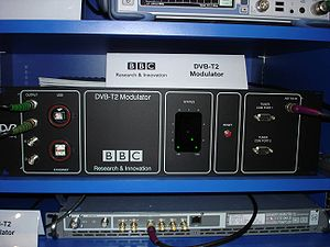 DVB-T2 - Image: Dvbt 2 modulator