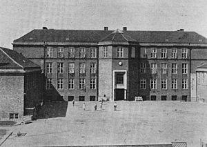 Dyssegårdsskolen - Dyssegård School in 1935