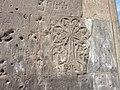 Dzagavank (cross in wall) (112).jpg