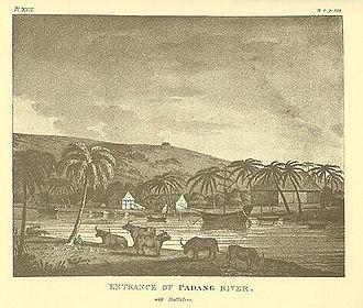 Padang - Padang circa 1795