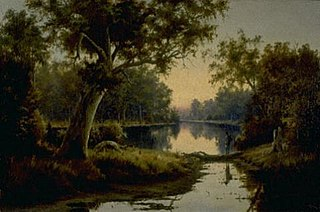 A Billabong on the Murray River