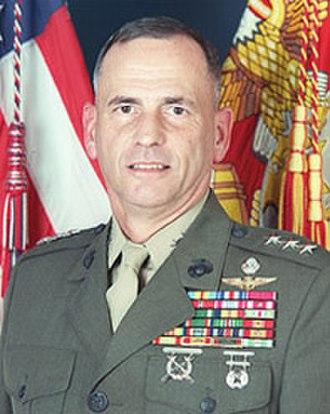 Earl B. Hailston - LtGen Earl Hailston, USMC (Ret)