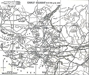 History of Gujarat - Early Gujarat (BC 250 to 1300 AD)