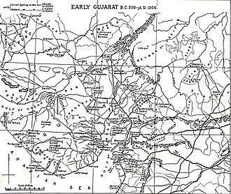 History of Gujarat - Early Gujarat (BC 250 to 1300 AD)