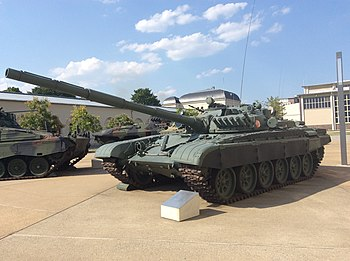 East German T-72 at the Bundeswehr Military History Museum, Dresden in August 2015.jpg