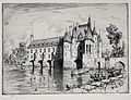 East facade of the Château de Chenonceau by TF Simon (1911, Novak 164) - TFSIMON-dot-com.jpg