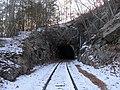 East portal of Taft Tunnel, December 2017.JPG