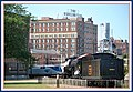 Eastbound California Zephyr arriving at Burlington Iowa - panoramio.jpg